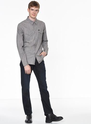 Uzun Kollu Slim Fit Gömlek-Lee